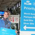 KLMのお姉さん