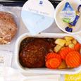 ヘルシンキ→ウィーンの機内食